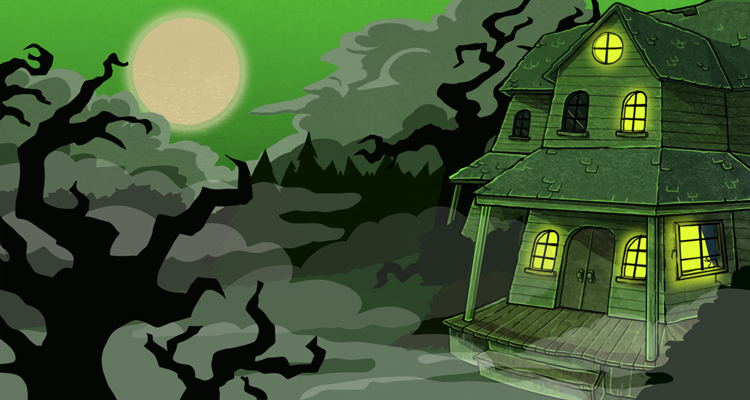 Haunted House - Visit Every 6 Hours for more prizes!