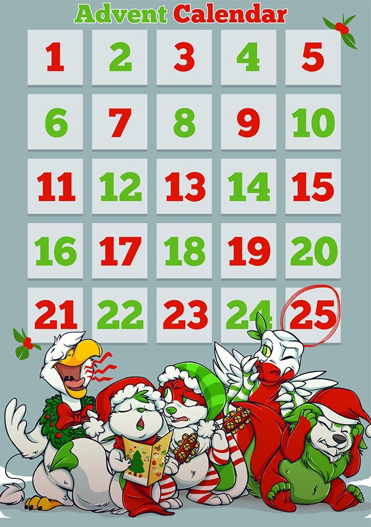 Advent Calendar - 2014 - Visit Daily