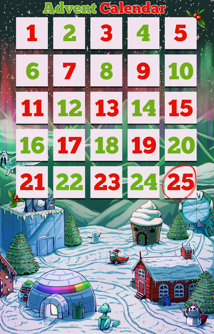 Advent Calendar - 2015 - Visit Daily