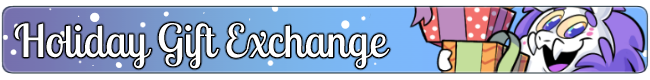 Holiday Gift Exchange Banner