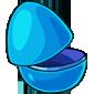 Empty Blue Novitegg