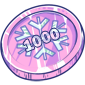 1000 Ice Cash Coin