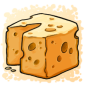 Cheese Ice Cube