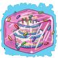 Birthday Cake Ice Cube