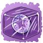 Purple Token Ice Cube