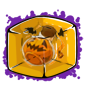 Halloween Snow Jar Ice Cube