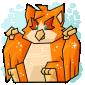 Orange Ori Cube