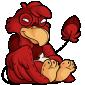 Red Dovu Plushie