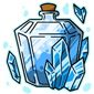 Crystal Snow Jar