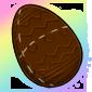 Chocolate Egg Plushie