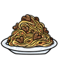 Romantic Spaghetti Dinner