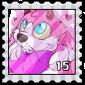 Love Jakrit Stamp