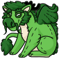 Green Novyn Plushie