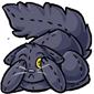 Scared Black Cat Plushie