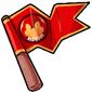 Team Red Dovu Flag