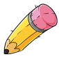 Pencil Plushie