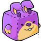 Purple Jakrit Cube Plush