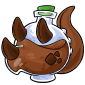 Brown Trido Morphing Potion