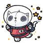 Space Cat Plush