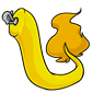 Clip-On Yellow Makoat Tail