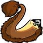 Clip-On Brown Novyn Tail