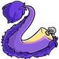 Clip-On Purple Novyn Tail