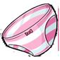 Pink Striped Panties