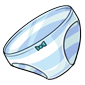 Blue Striped Panties