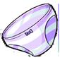 Purple Striped Panties