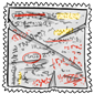 Cheat Sheet Stamp