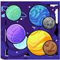Planetarium Bouncy Balls
