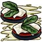 Mushroom Caprese