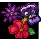 Embroidered Flower Badges