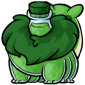 Green Krittle Morphing Potion