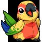 Sun Parakeet Plushie