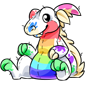 Rainbow Traptur Plush
