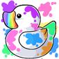 Rainbow Ducky