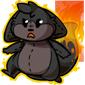 Firebreathing Dabu Plushie
