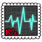 Heart Rate Stamp