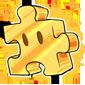 Golden Jigsaw Piece