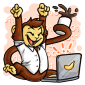 Happy Code Monkey