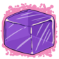 Purple Ice Cube