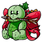 Gift Wrapped Treetle Plushie