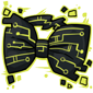 Yellow Tech Bow Tie