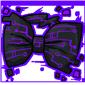 Purple Tech Bow Tie
