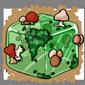 Mushroom Ice Cube