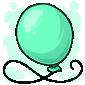 Bluegreen Balloon