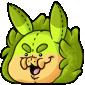 Squishy Green Krittle Plush