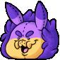 Squishy Purple Krittle Plush