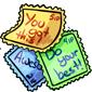 Sticky Notes Stamp